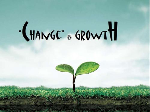 change is growth