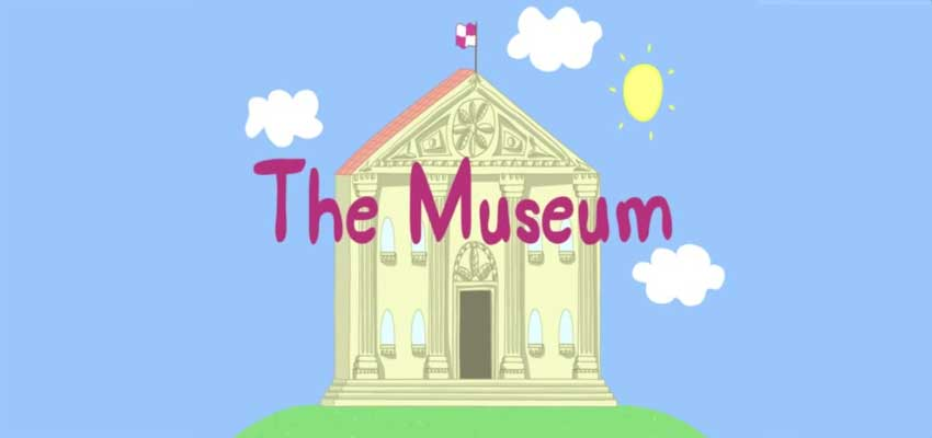peppa pig- the museum
